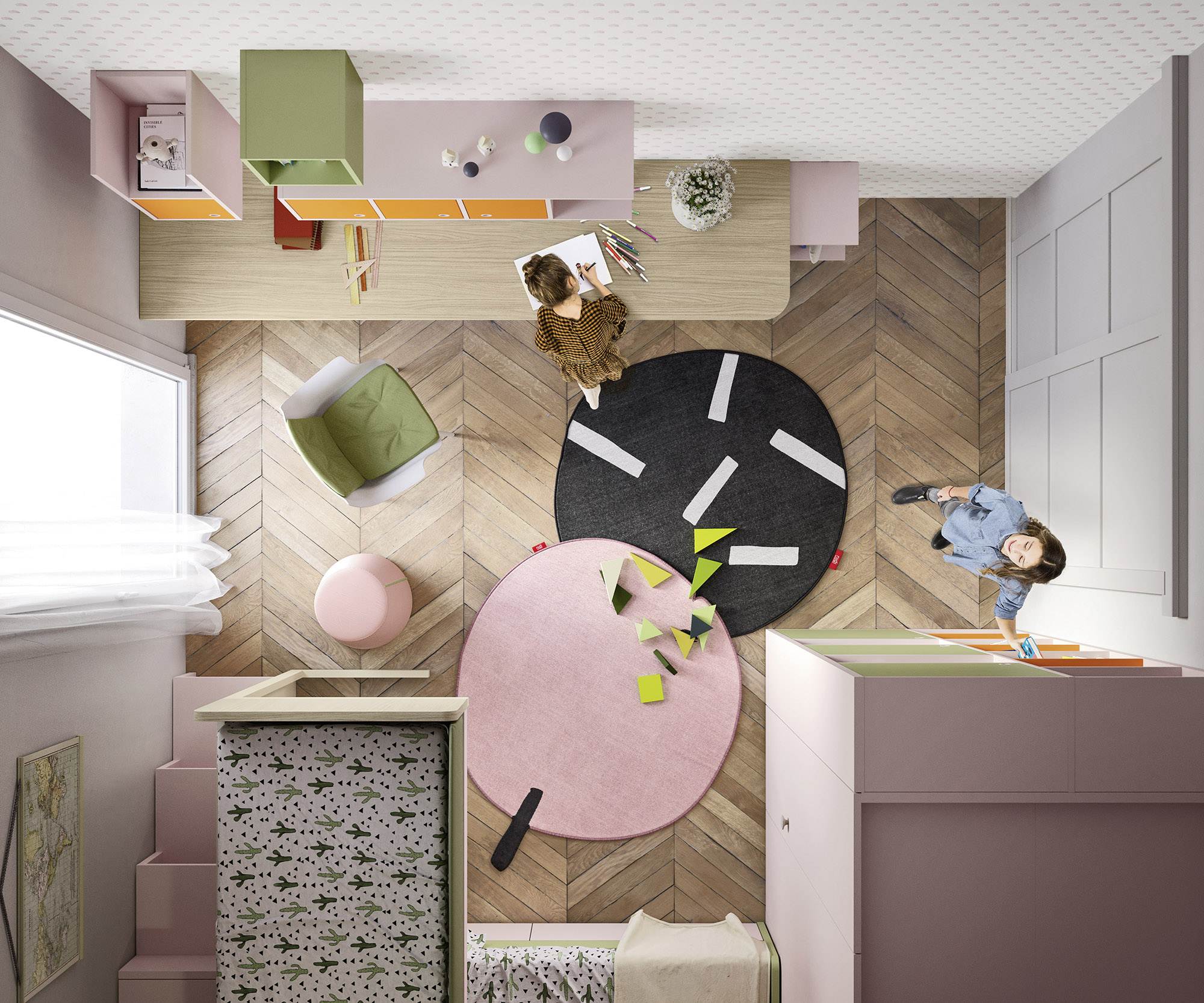 Kinderzimmerprojekte die raumelfen for Kinderzimmer geschwister