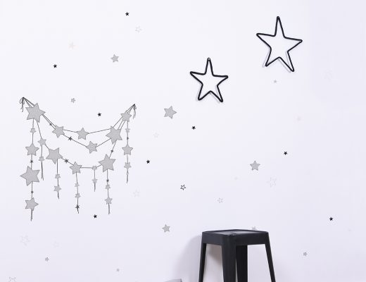 Babyzimmer einrichten mit Sternen