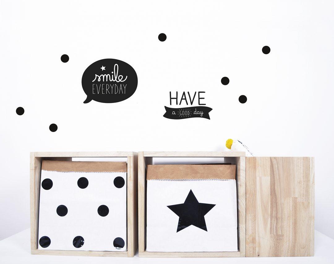 Ablageboxen mit Stern