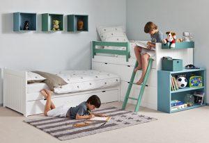 Asoral Etagenbett Geschwister - Die Raumelfen | Kinderzimmer Ideen