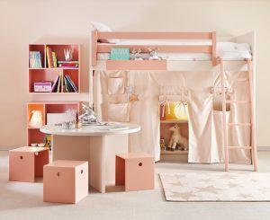 Asoral Hochbett Coralle - Kinderzimmer einrichten | Kinderzimmer Ideen