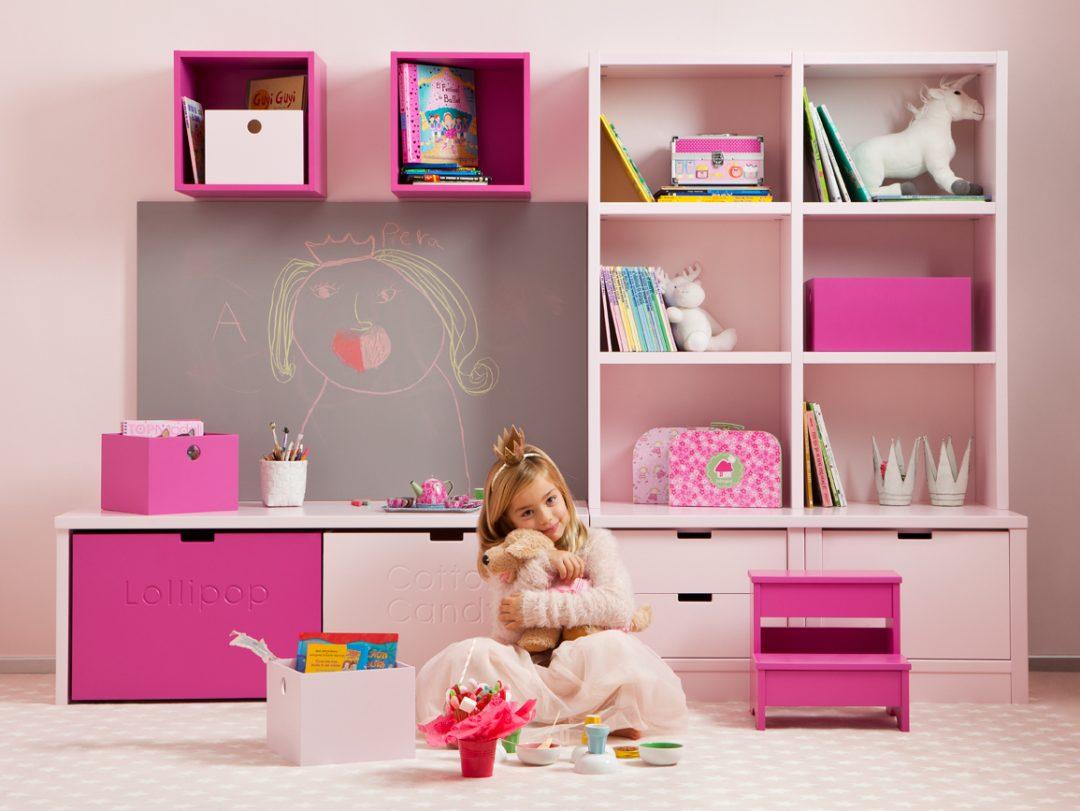 Kinderzimmer einrichten Asoral Rosa Traum | Kinderzimmer Ideen - Die Raumelfen