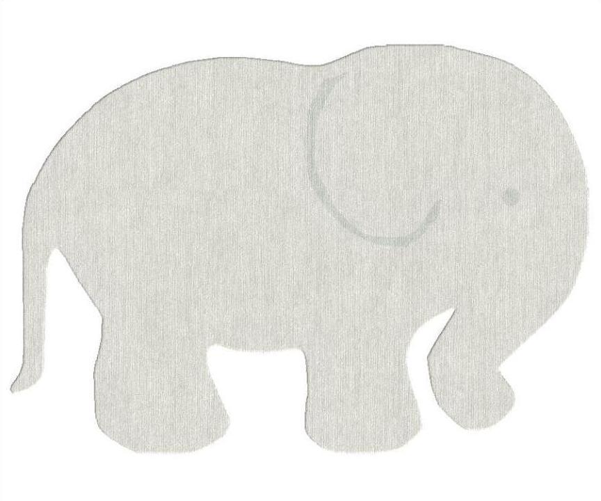 Kinderteppich Asoral Elefant