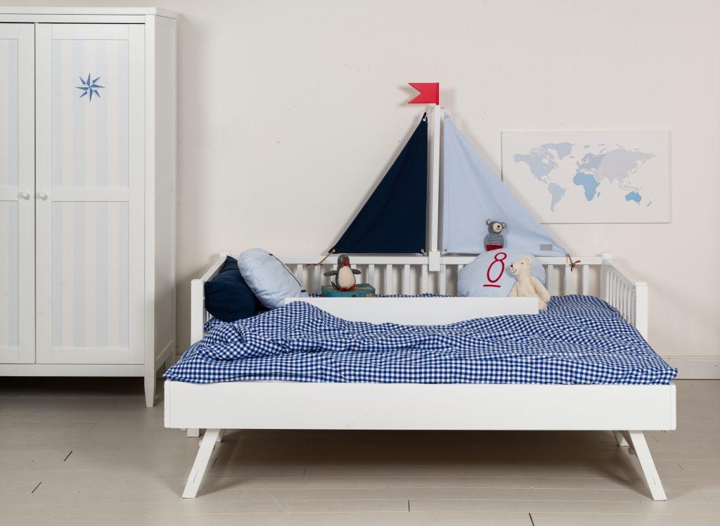 Couchbett Segel mit Gästebett